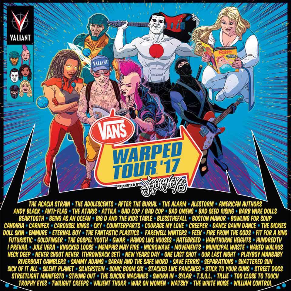 Warped Tour Dates Michigan