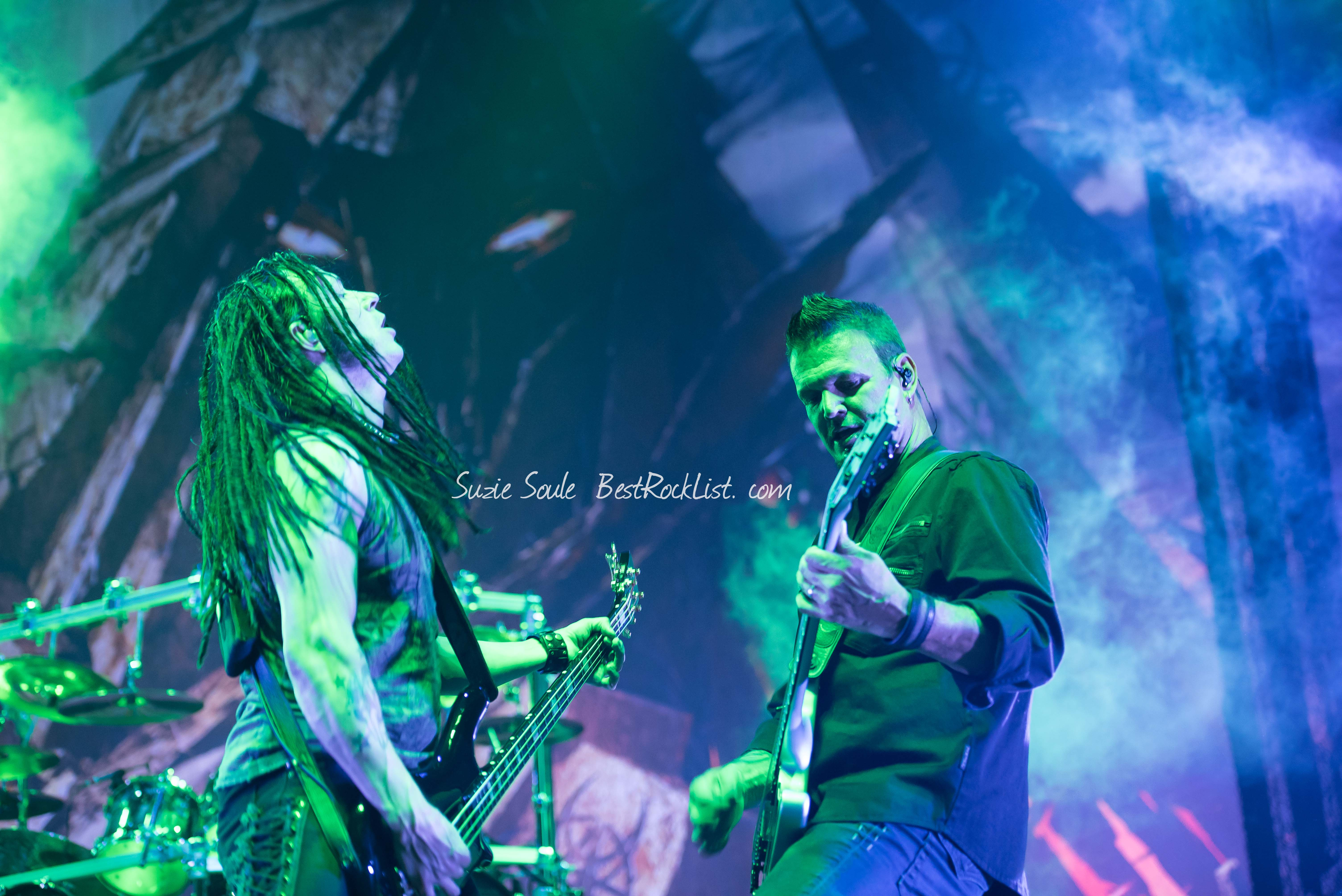 John Moyer and Dan Donegan of Disturbed