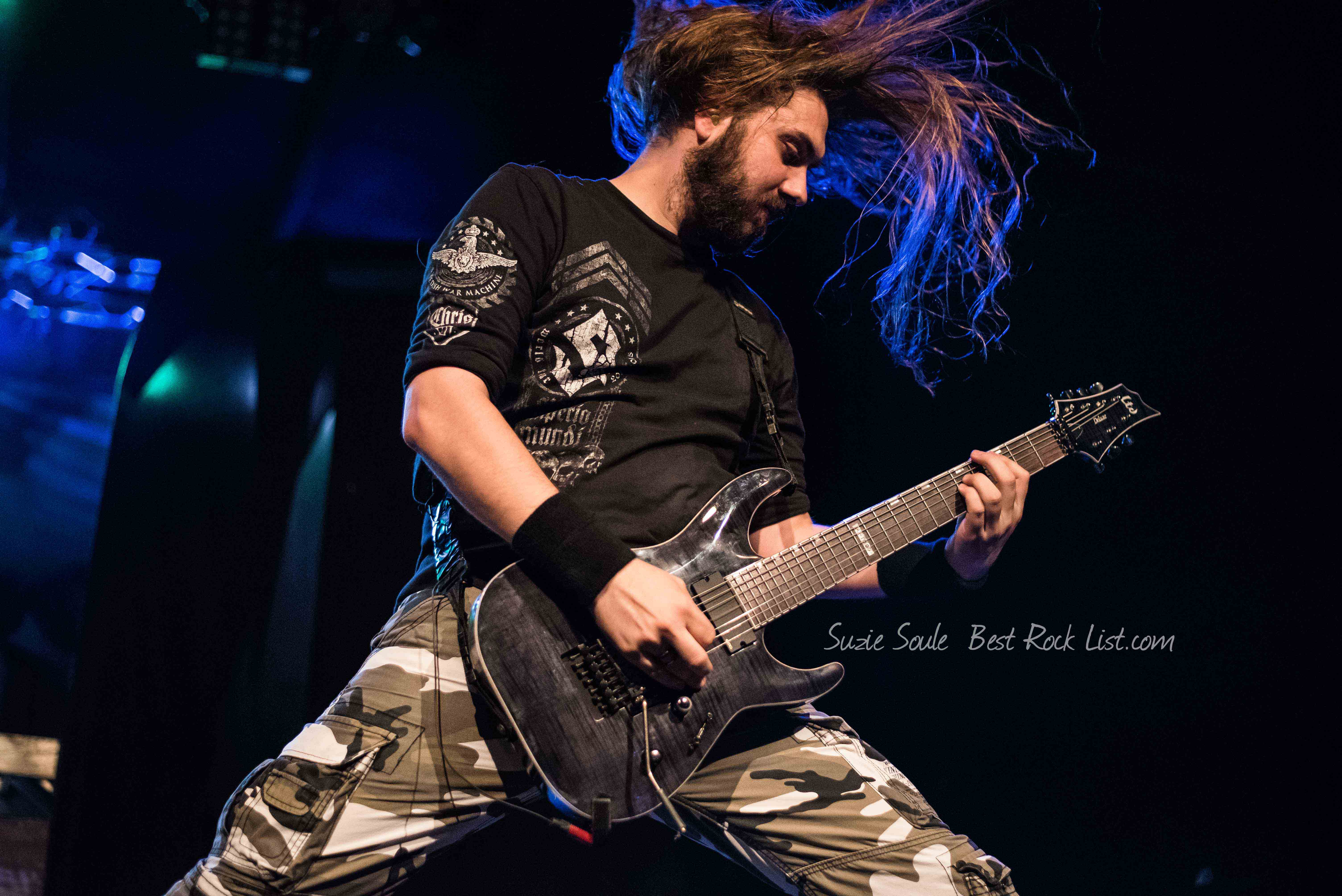 Chris Rörland of Sabaton