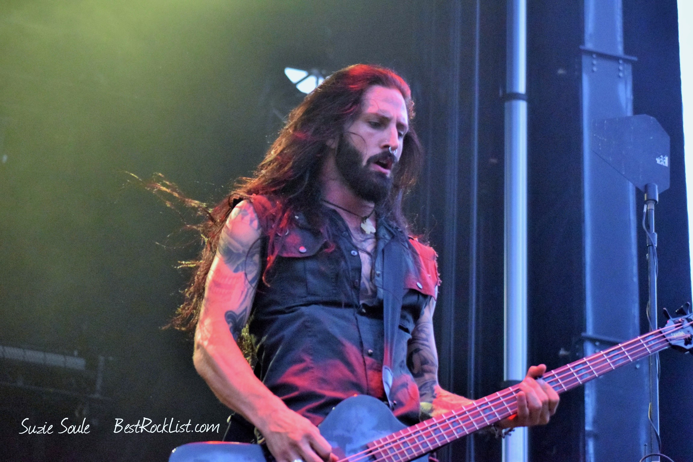 Leigh Kakaty of Pop Evil