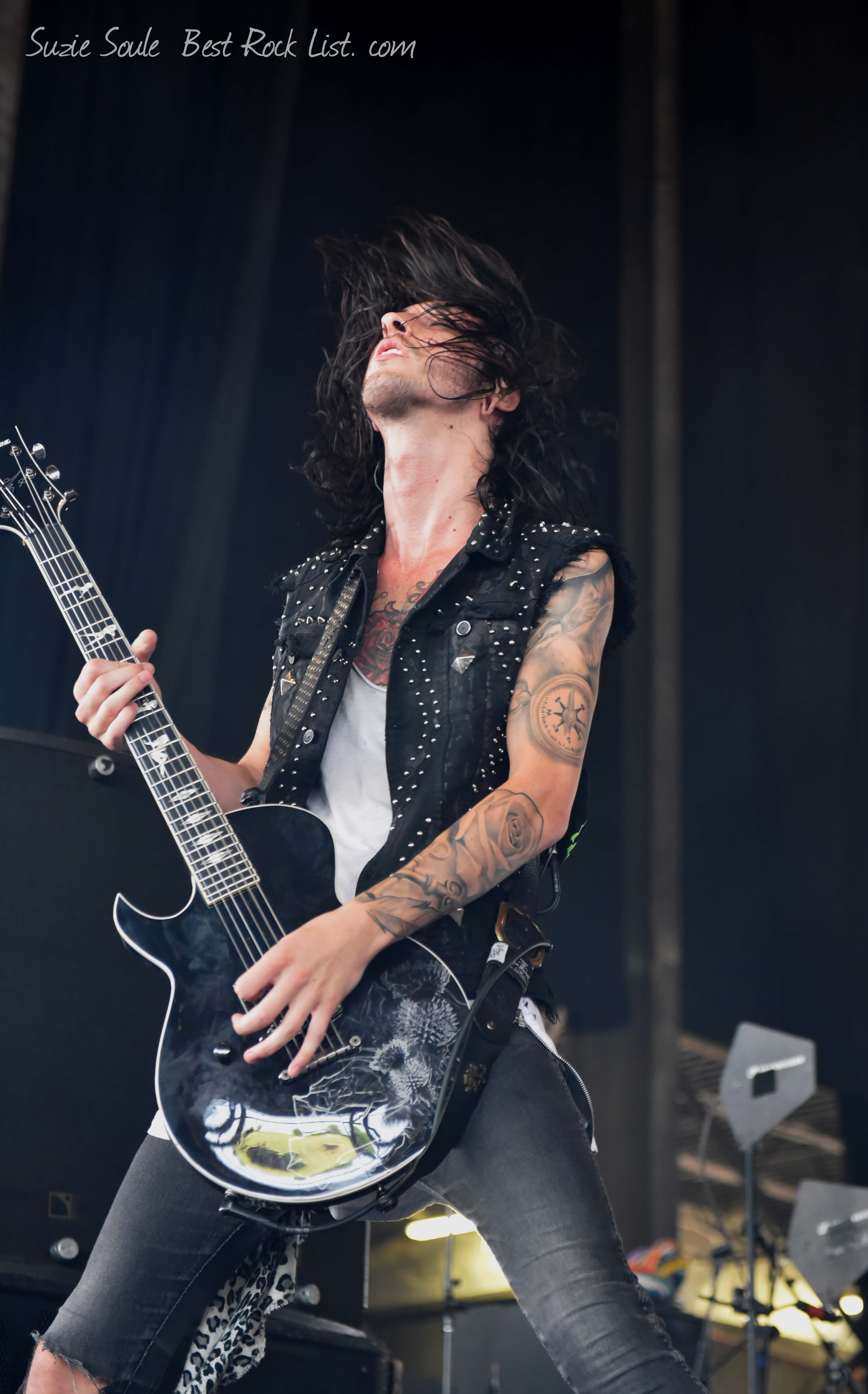 Cameron Liddell  of Asking Alexandria