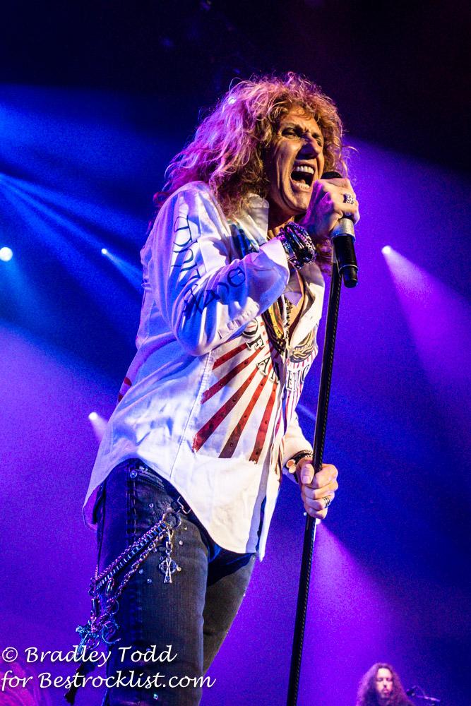 Whitesnake Slide It In Tour Dates